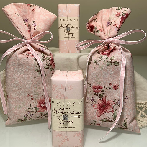 Lavender Sachets and Shea Butter Soaps
