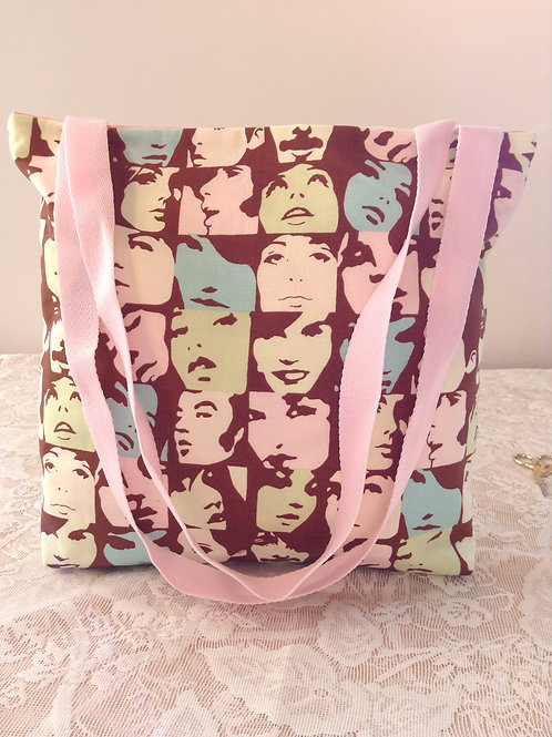 Reversible Tote With Pouch Set