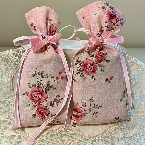 Delicate Floral Lavender Sachets