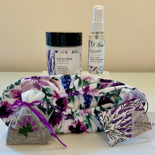 Sonoma Lavender Hand & Foot Care Gift Set