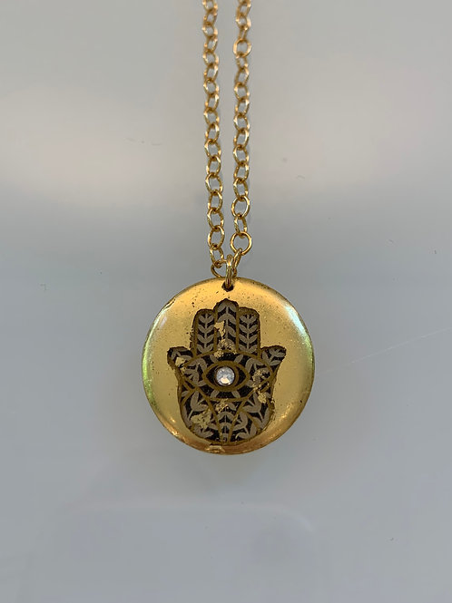 Hamsa - Mini Necklace