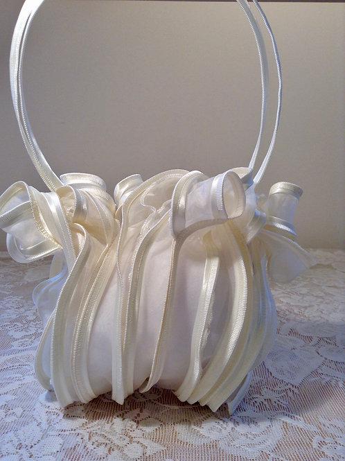 Ivory Silk Bag
