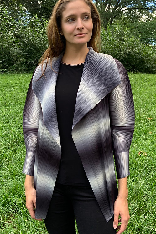 Pleated Jacket- Multicolored