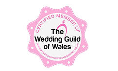 Proud Member of the Wedding Guild of Wales