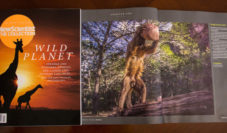 "My photo is the opening image of ""Wild Planet"", volume of the collection published by New Scientist!"