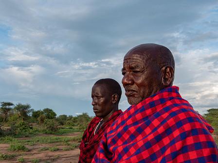Maasai elders.