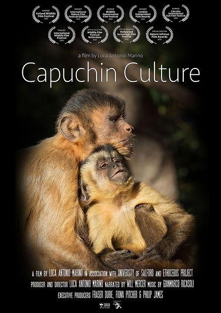Capuchin Culture Poster NEW laurels web.