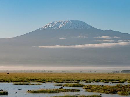 Kilimanjaro, Amboseli National Park.