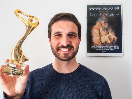 The statuette of the London Independent Film Awards