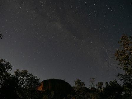 Starry nights at Fazenda Boa Vista.