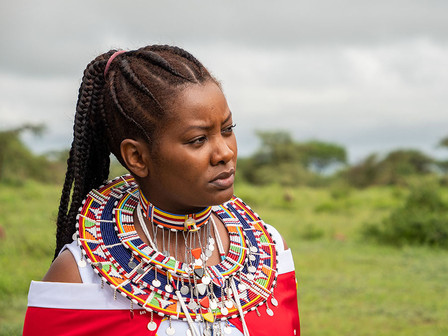 Nice Nailantei Leng'ete, human rights activist and Amref ambassador. Named by Time Magazine as one of the 100 most influential people of the world in 2018.