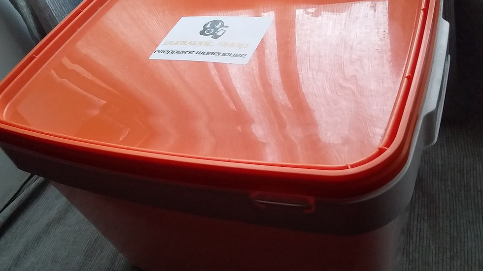 Washed rectangular 20kg food safe buckets in store only