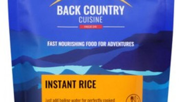 Instant freeze dried rice