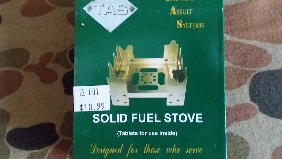 Tas Solid Fuel Stove With Tablets