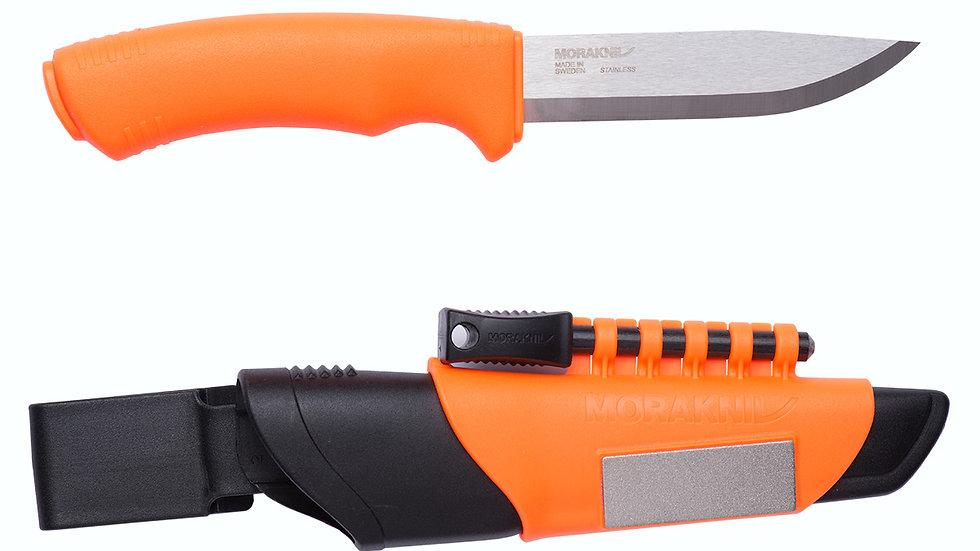 Morakniv survival bushcraft knife orange