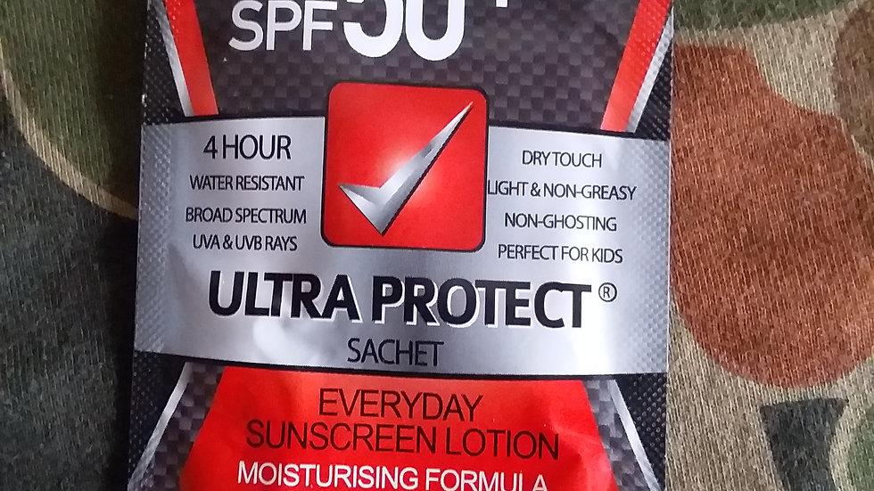 Sunscreen sachet 10ml 50+