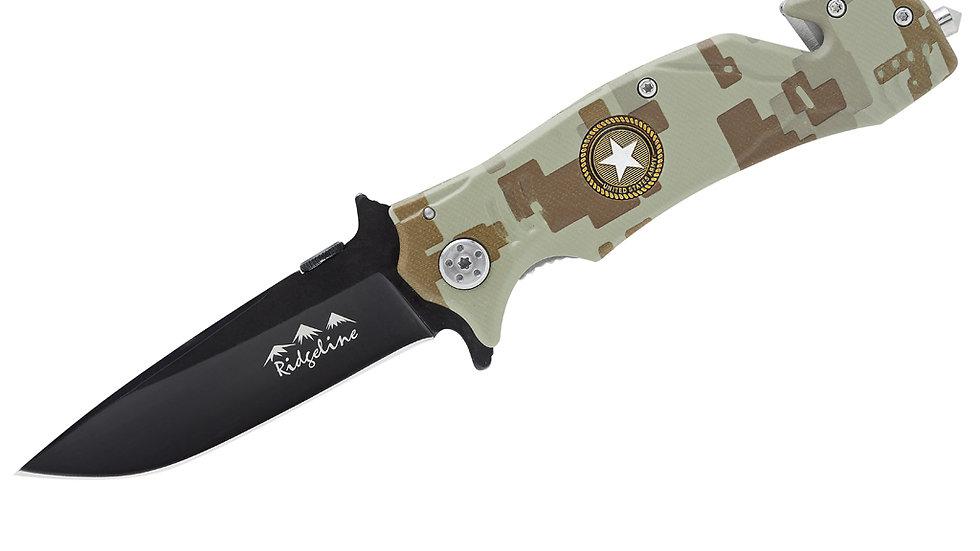 Ridgeline Mustang rescue knife