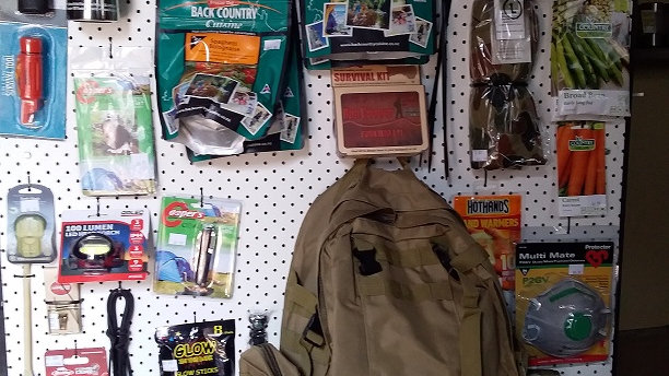 Bravo Prepper's bug out bag postage included