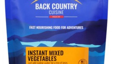 Instant mixed vegetables makes 440 grams