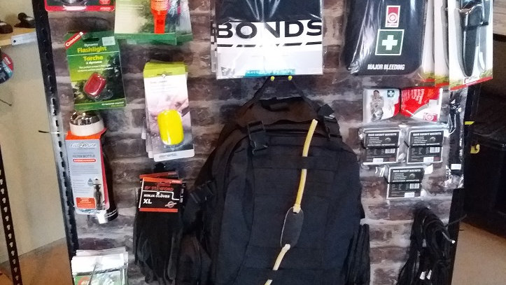 Gray man EDC bag and bow last one in LARGE- free postage
