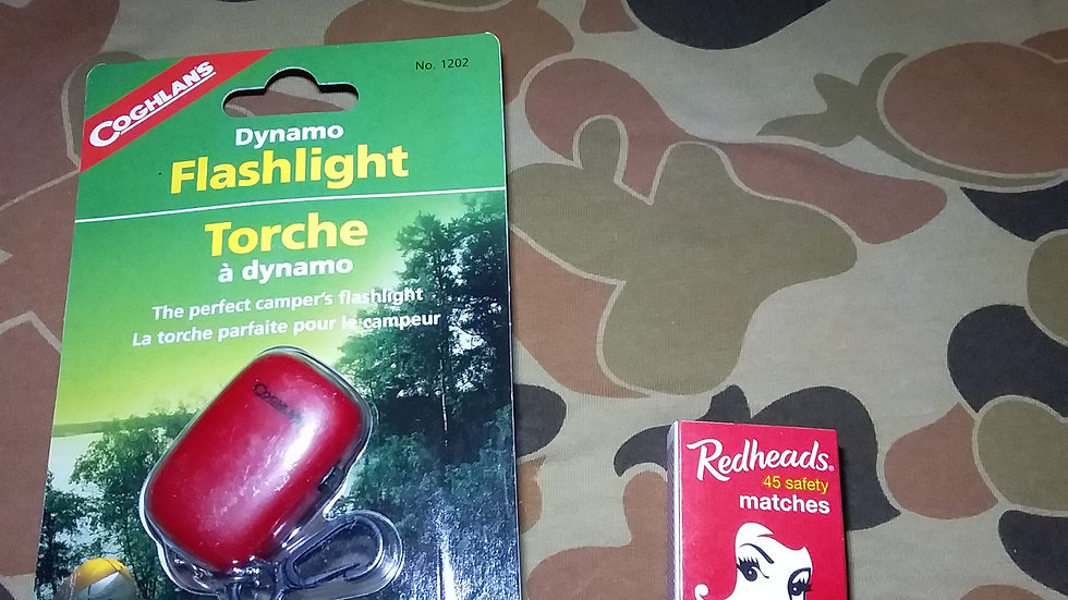 Pocket dynamo torch