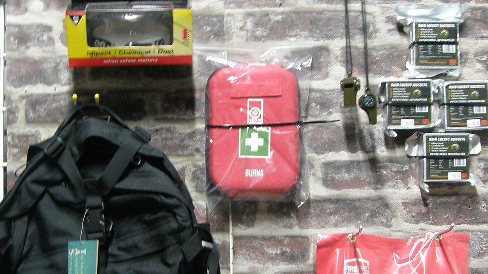 Bushfire emergency go bag kit-free postage