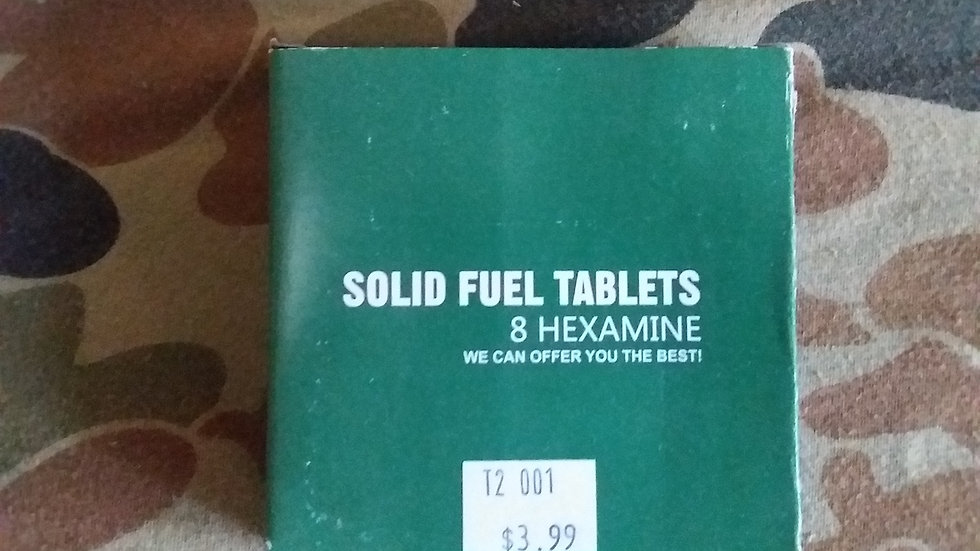 Hexamine Tablets - Pack of 8