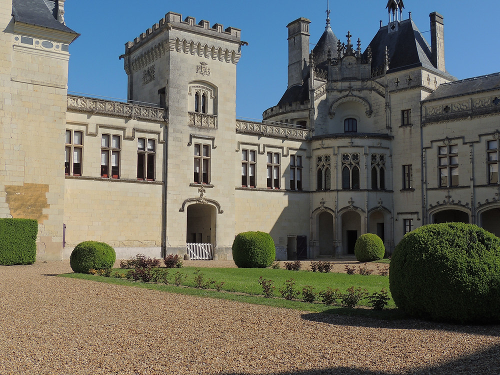 Loire Valley chateau Brézé