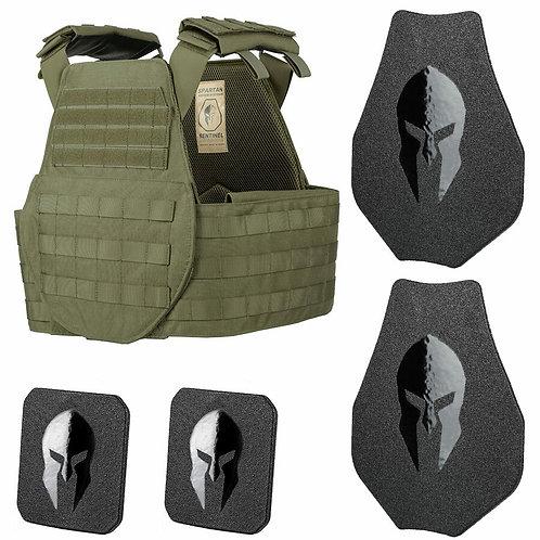 Spartan Sentinel Swimmers Cut OMEGA Armor Kit