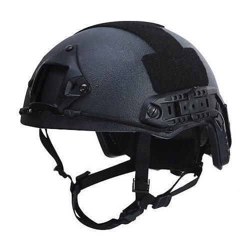 NIJ IIIA+ Fast Style ATE Bulletproof Helmet with NVG and Rails