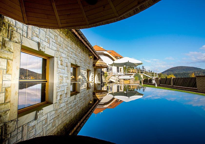 Rezydencja, willa z basenem w górach - Szczyrk