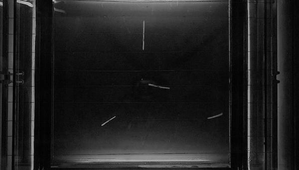 Opus 11 The Cosmic Rays. 2018. Video loop, stereo sound, 3min. © Linarejos Moreno
