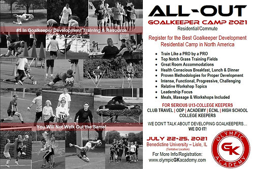 ALL-OUT GK Camp 2021 - Commuter Campers