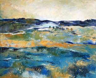 נוף בכחולים