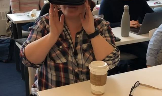 Using VR in my classes