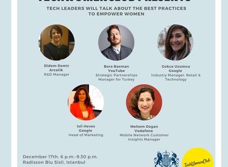Techwomen Club - Teknolojide Kadın Buluşması