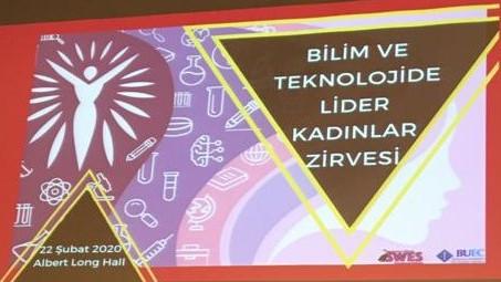 Boğaziçi Üniversitesi  Bilim ve Teknolojide Lider Kadınlar Zirvesi