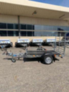 ! Neuheit! Quad Anhänger, 2,2x1,32 m, 75