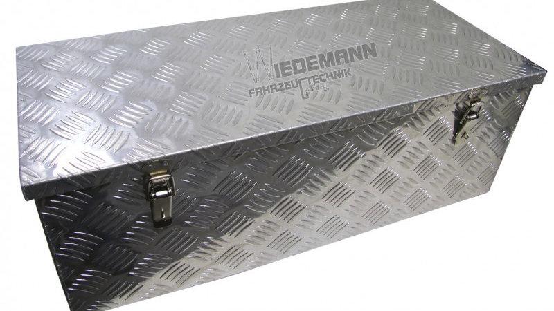 Werkzeugkiste Aluminium f. Anhänger 760 x 320 x 270 mm