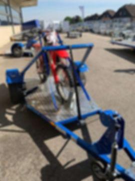 Neuheit! Motorradanhänger Enduro, 750 kg