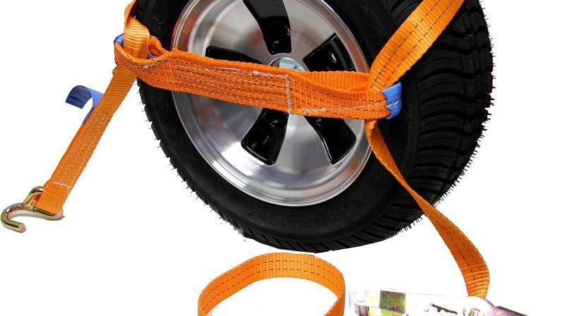 Zurrgurt Orange für Reifensicherung