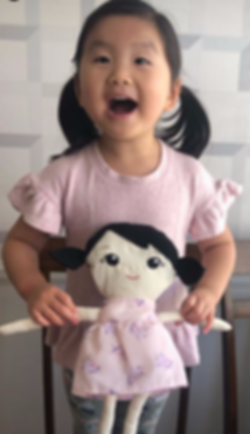 """Little_Evie_named_her_doll_""""Evie""""...._th"""