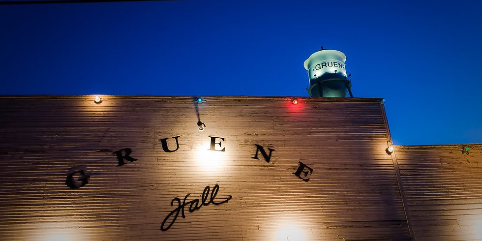 Soul Sessions feat. Robert Carter debut performance at Gruene Hall