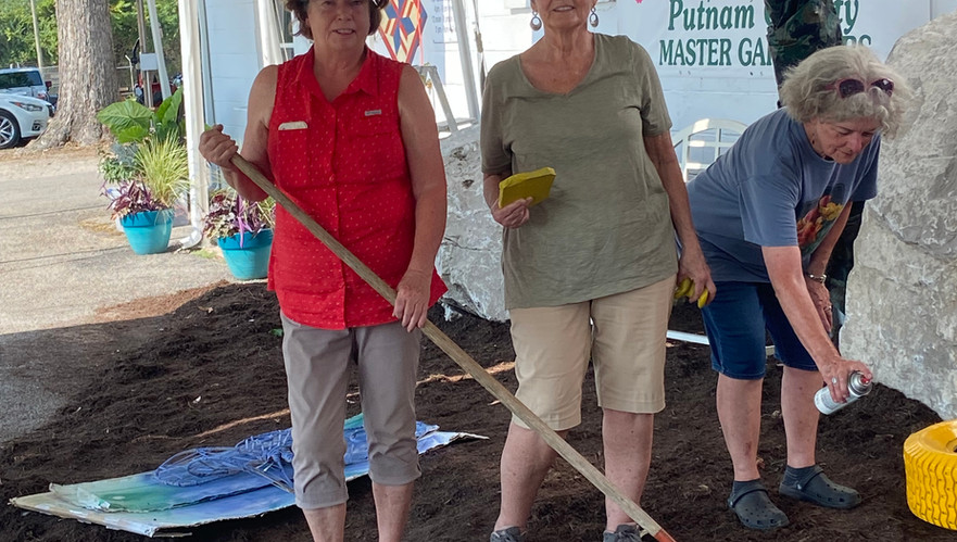 Master Gardener volunteers are the best, dedicating their time and talent to help make the Putnam County Fair special.