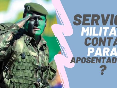 O tempo de serviço militar conta para aposentadoria no INSS?