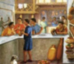 thermopolium Rome eat snack bar
