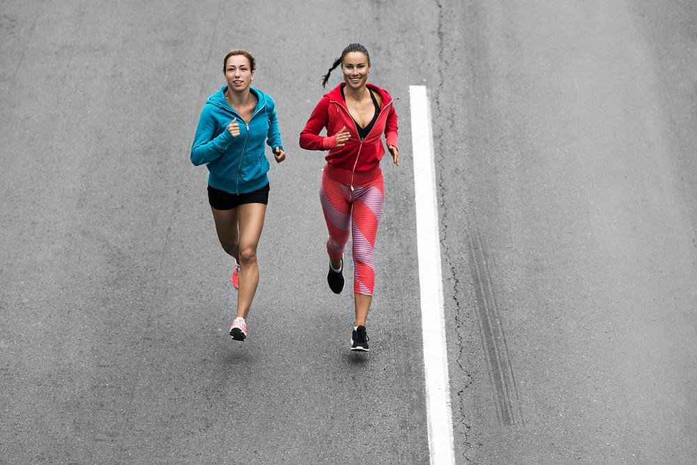 マラソンの練習