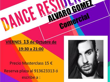 AGENDA DANCE RESIDENT  13 de Octubre