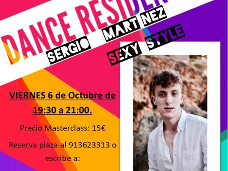 AGENDA DANCE RESIDENT 6 de Octubre