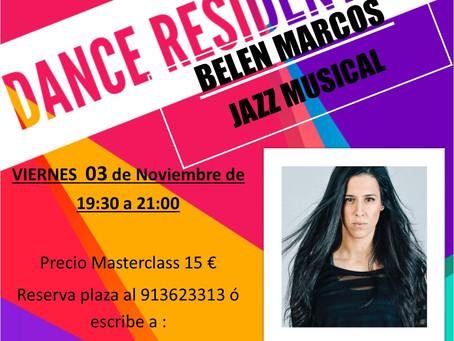 AGENDA DANCE RESIDENT 3 de Noviembre